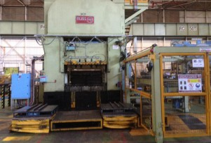 Bliss blanking press at Holden vehicle plant in Elizabeth, South Australia