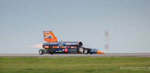 Bloodhound SSC conducts first public test - October 26, 2017