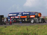 Bloodhound SSC test fires its jet engine