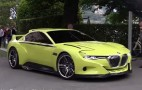 Watch BMW's 3.0 CSL Hommage Concept Start Up And Roll: Video