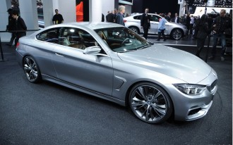 BMW 4-Series Coupe Concept Live From The Detroit Auto Show