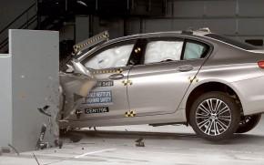 2017 BMW 5-Series, IIHS crash test