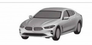 BMW 8-Series Gran Coupe leaked in patent image