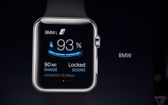 Apple Name-Checks BMW During Reveal Of The New Apple Watch (But Where Was CarPlay?)