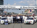 BMW at the Nurburgring 24 Hours race
