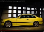 BMW E36 video screen shot