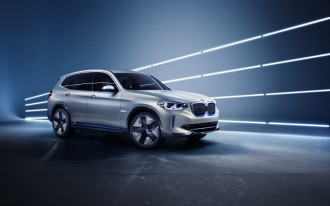 BMW ramps up manufacturing in China with all-electric iX3 SUV