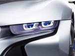 BMW laser headlight technology