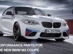 BMW M Performance Parts on BMW M2