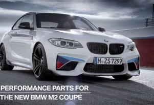 BMW M Performance Parts on BMW M2