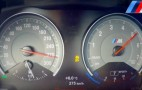 BMW M2 runs up to its 171 mph top speed
