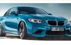 BMW M2 facelift leaks showing subtle styling changes