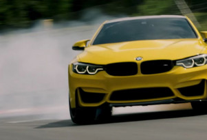 Witness the BMW M4 CS drift around the 'Ring in Pennzoil's latest film