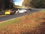 BMW M5 Ring Taxi crashed at the Nurburgring