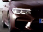 2018 BMW M5 teaser video