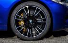 Get a grip: 2018 BMW M5 rides on specially engineered Pirelli P Zero tires