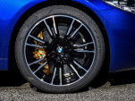 2018 BMW M5's custom Pirelli tires