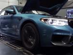 2018 BMW M5 on dyno