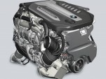 BMW quad-turbocharged 3.0-liter 6-cylinder diesel engine