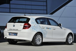 BMW using 1-Series and MINI Cooper in DriveNow initiative