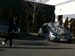 BMW Vision EfficientDynamics on the set of MI4