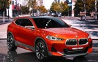BMW X2 concept debuts at 2016 Paris auto show