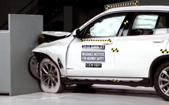 2018 BMW X3 aces crash tests, with caveats