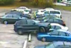 BMW X5 Parking Fail