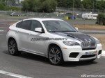 BMW X6 M 'special edition' spy shots