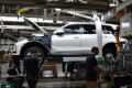 BMW X7 pre-production at plant in Spartanburg, South Carolina