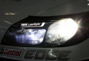 BMW Z3 GT3 laser headlight.
