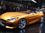 BMW Z4 concept, 2017 Frankfurt Motor Show