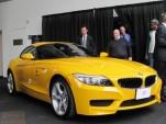 2012 BMW Z4 sDrive 28i, BMWs first U.S. 4-cylinder car since the 1990s, at BMW Manhattan media event