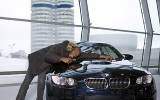 """Usain Bolt and BMW M3: """"Love at First Sight"""""""