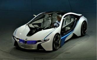 Frankfurt Auto Show: BMW Vision EfficientDynamics Concept