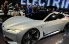 BMW i Vision Dynamics Concept previews all-electric four-door sedan