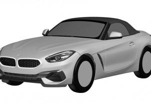BMW Z4 Patent Drawings
