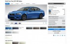2013 BMW M5 Configurator Site Now Live