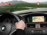 BMW's intelligent learning sat nav system