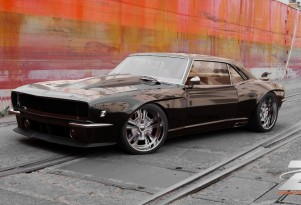 Bo Zolland's 1968 Camaro project. Image: Zolland Design
