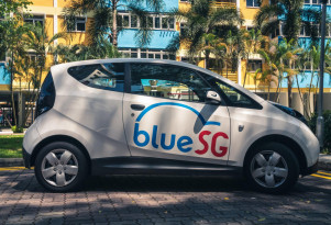 Singapore launches electric-car sharing program using Bollore BlueCars