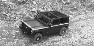 Bollinger B1 electric off-road SUV tackles trails