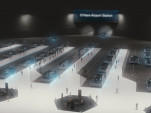 Boring Company Chicago O'Hare station rendering