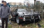 Borrowed Pagani Zonda GJ Crashed In London: Photos
