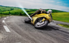 Air jets on motorcycles could prevent crashes