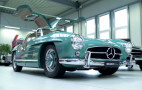 A Mercedes-Benz 300SL restored by Brabus is a thing of beauty