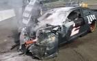 NASCAR's Brad Keselowski loses his brakes at 165 mph