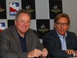 Brian Barnhart and Terry Angstadt - INDYCAR photo