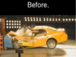Brilliance BS6 crash test, before modifications, 2007