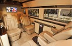 Mercedes Sprinter vans turned into luxury limo service